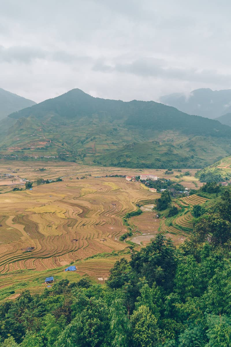 Route to Tu Le, Mu Cang Chai, Vietnam