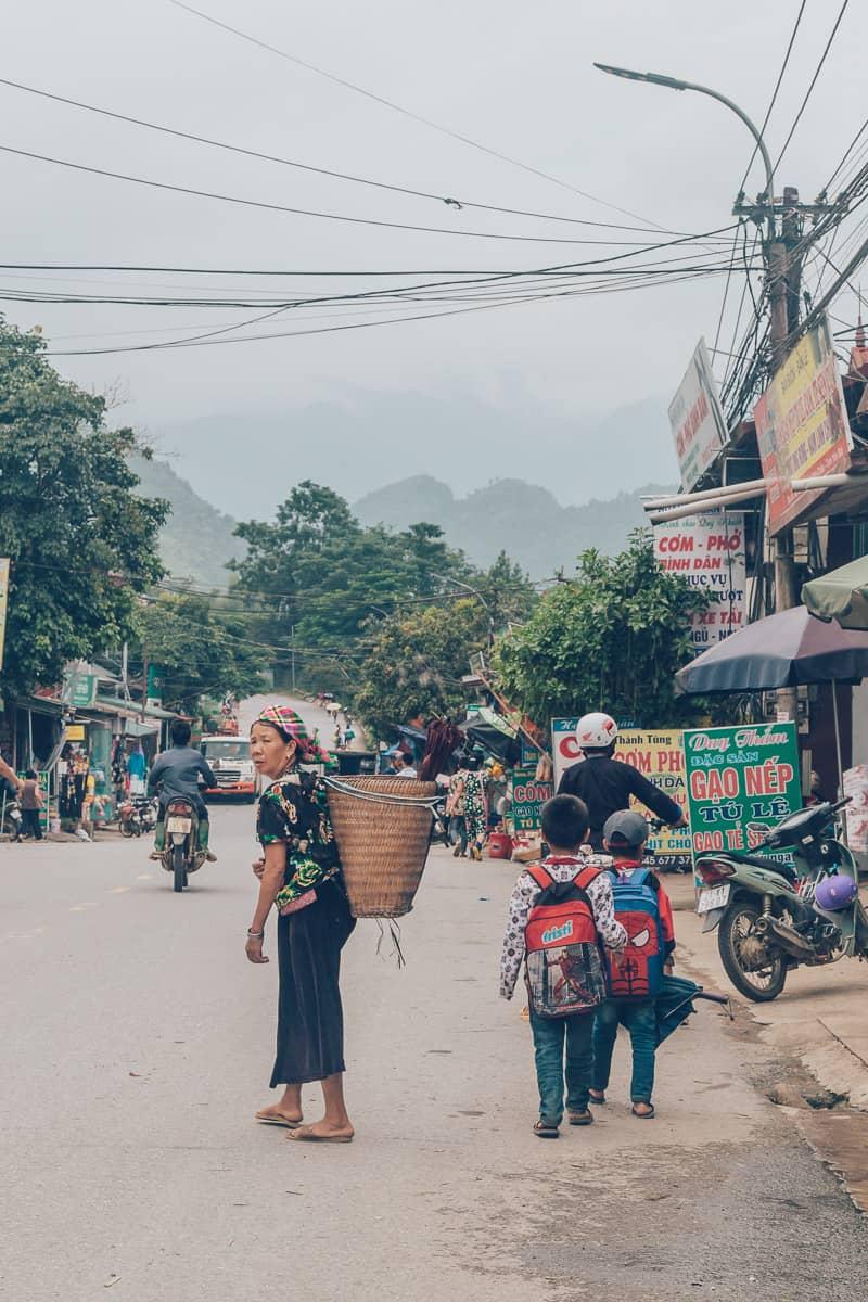 Tu Le Town, Mu Cang Chai, Vietnam