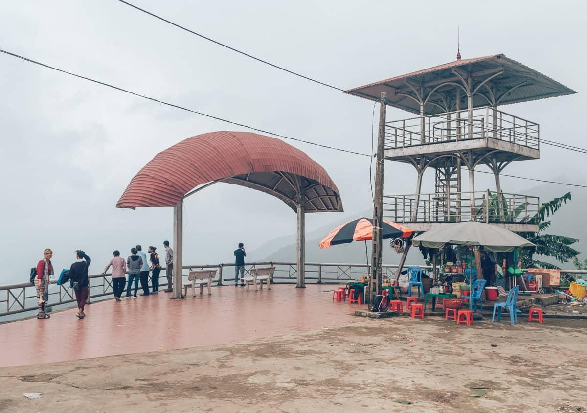 Parasailing in Mu Cang Chai, Vietnam