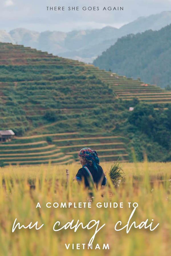 A complete guide to Mu Cang Chai, Vietnam! | things to do in mu cang chai, mu cang chai vietnam travel, vietnam places to visit