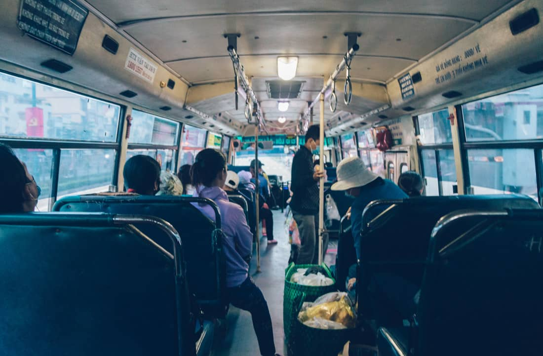 Local Bus in Ho Chi Minh City, Vietnam