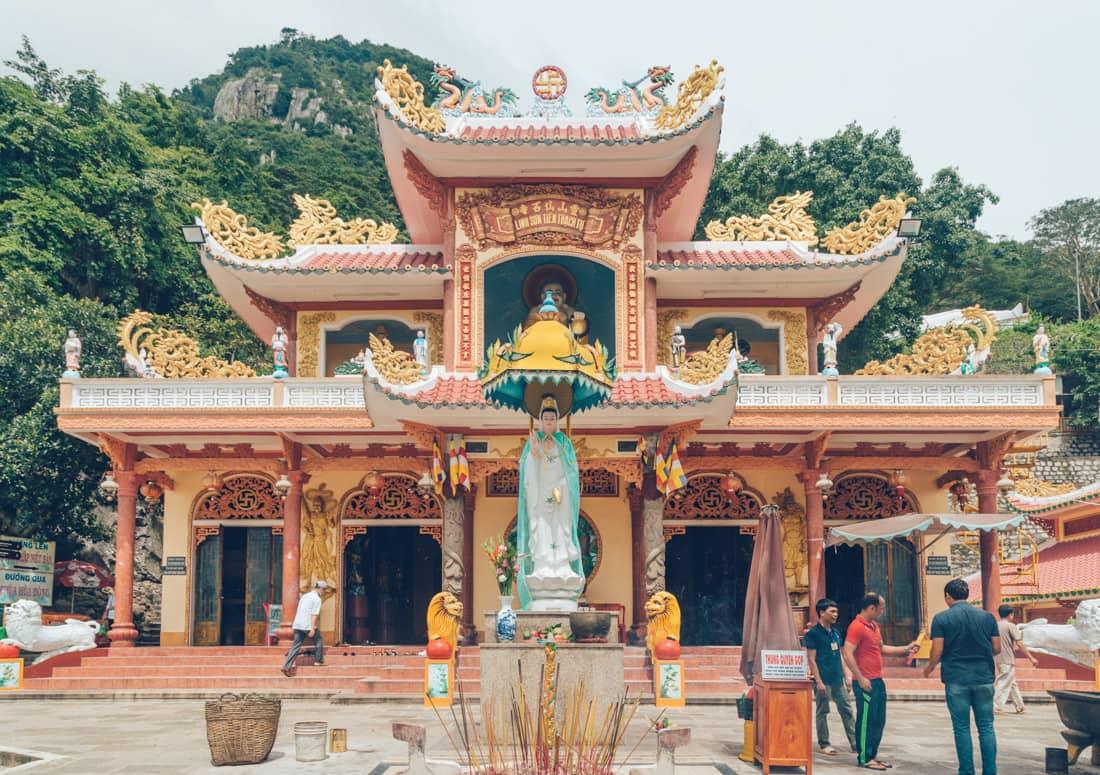 Linh Son Tien Thach Pagoda, Ba Den, Vietnam