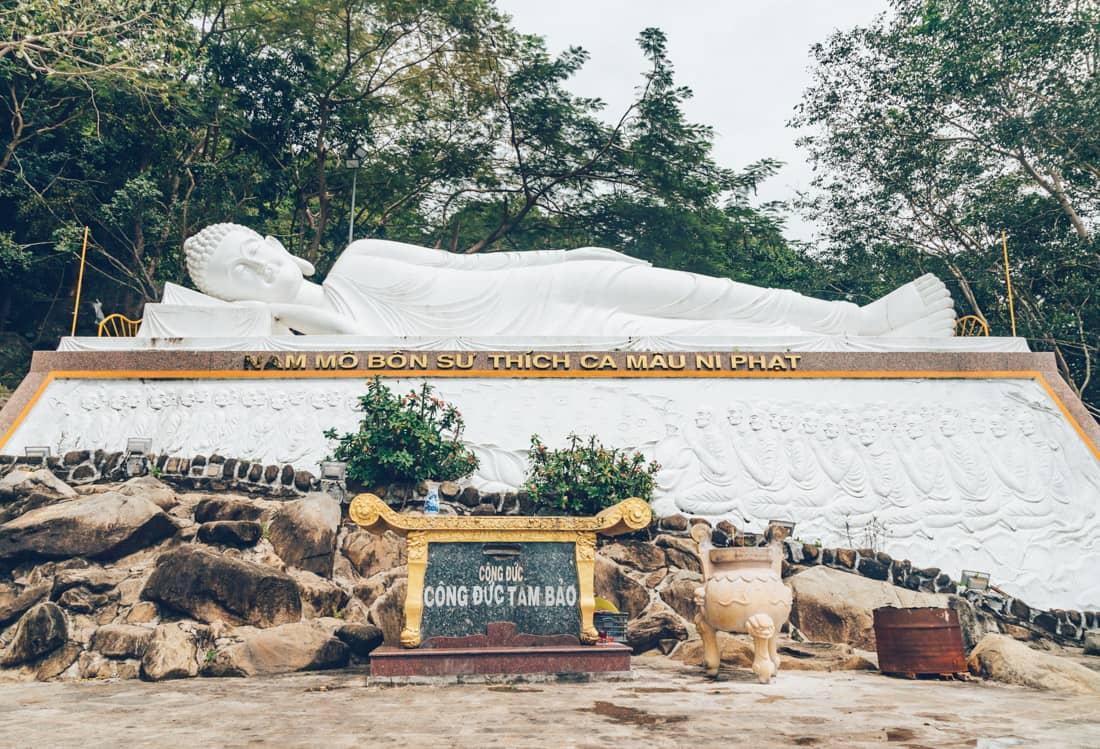 Reclining Buddha, Ba Den, Vietnam