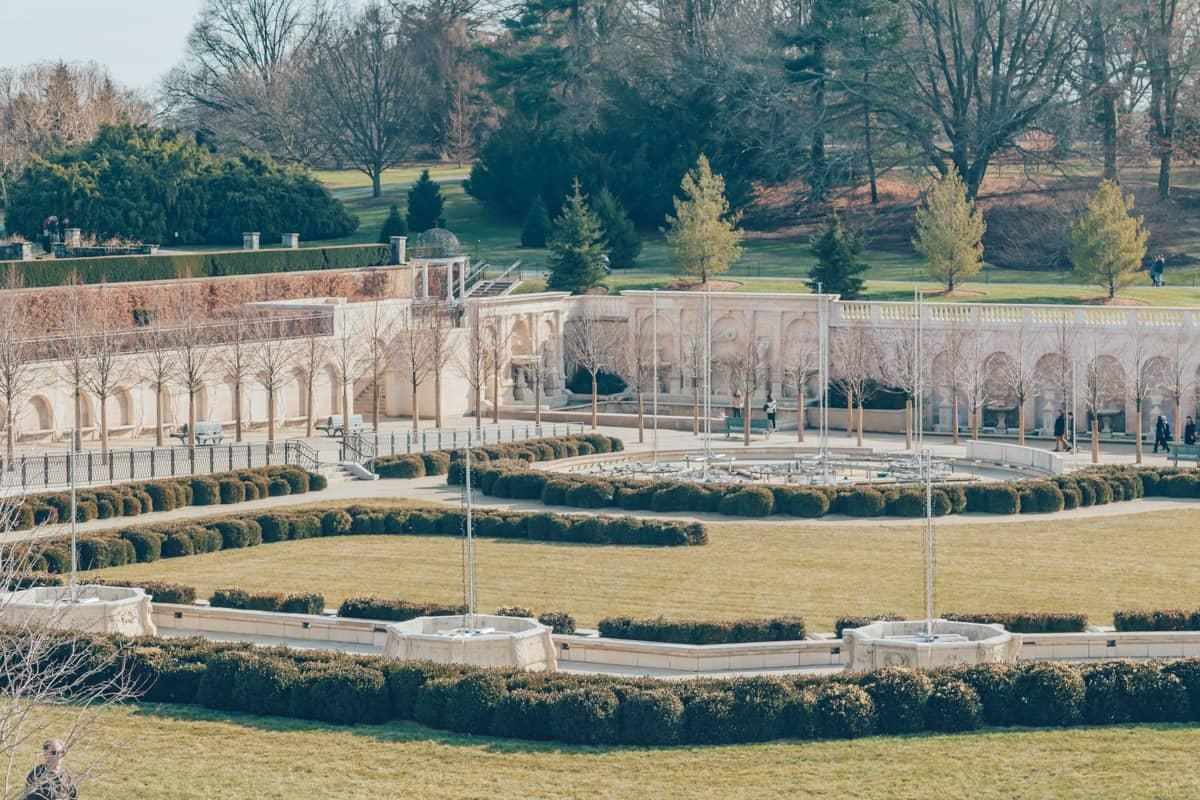 Main Fountain Gardens, Longwood Gardens, Pennsylvania