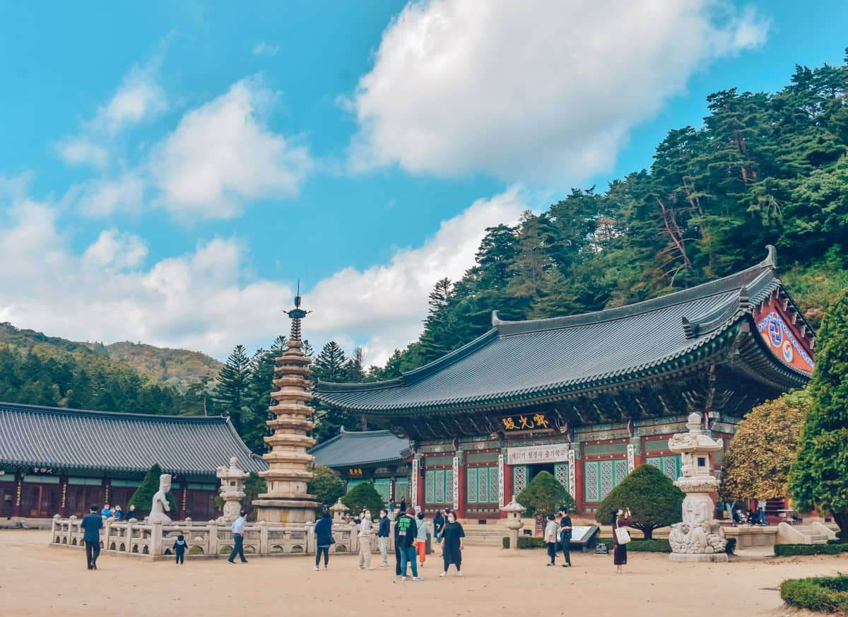 Woljeongsa, Odaesan, Korea