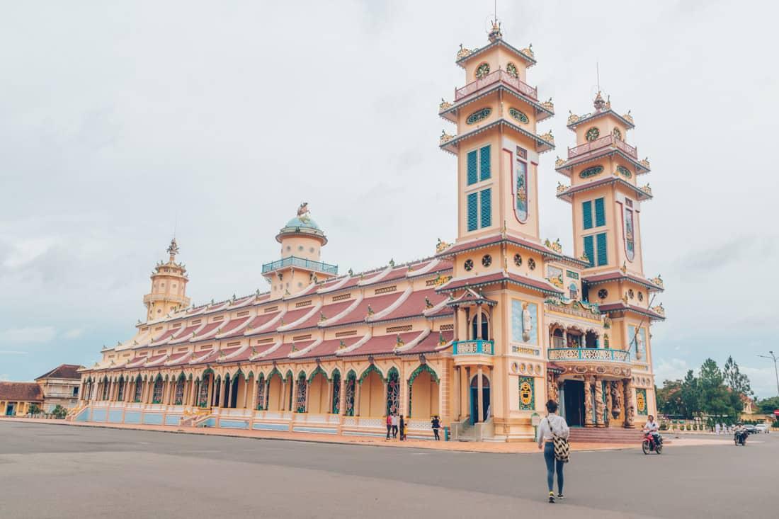 Tay Ninh Cathedral, Vietnam