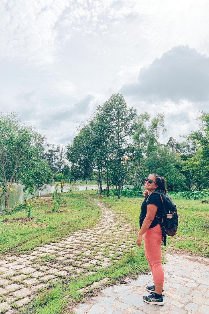 Ba Den Entrance, Vietnam