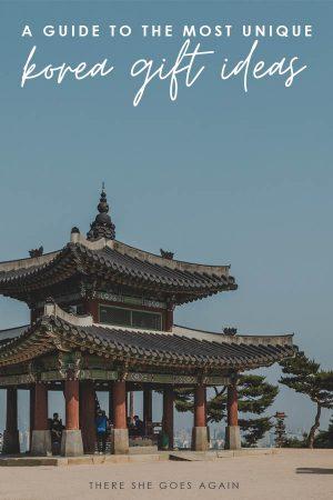 all the best korea gift ideas! | korea travel, travel gift guide