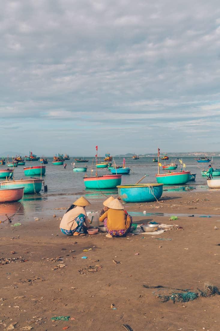 Mui Ne Fishing Village, Vietnam