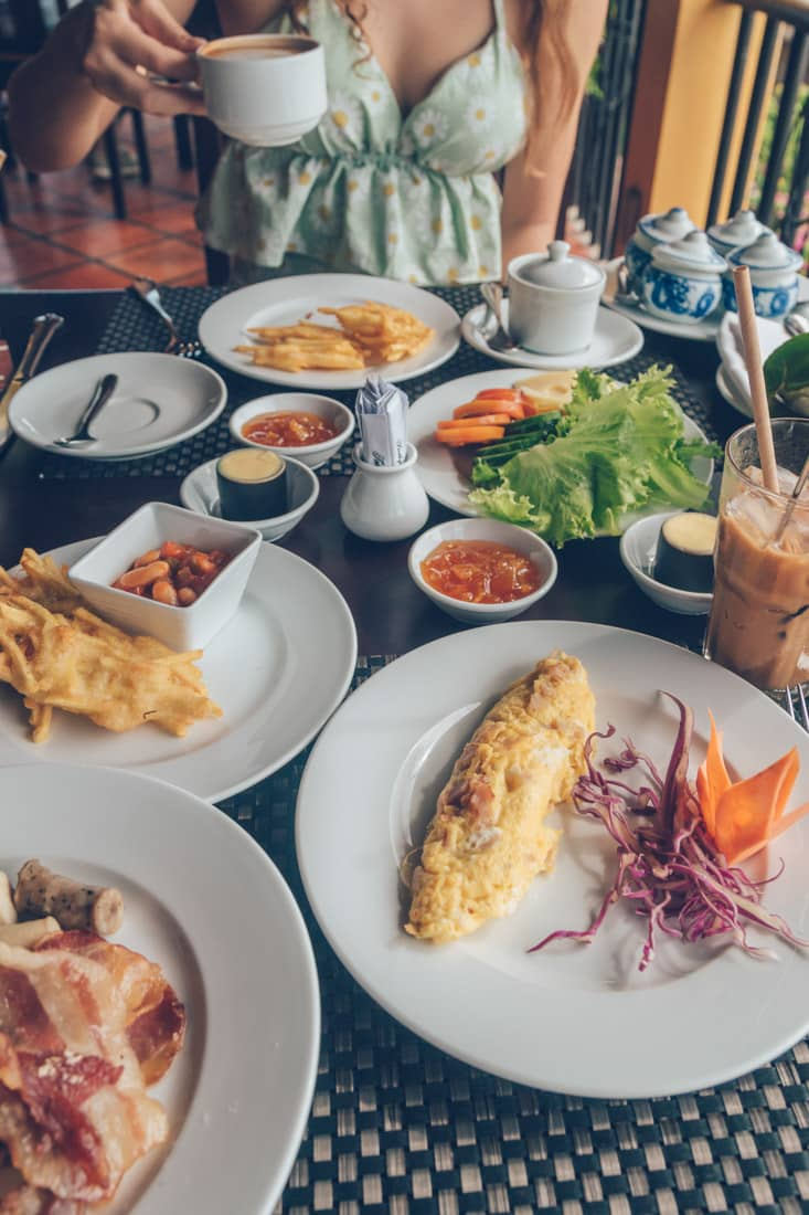 Breakfast at Victoria Phan Thiet, Vietnam