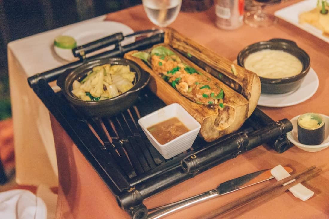 L'Oceane Restaurant Dinner, Vietnam