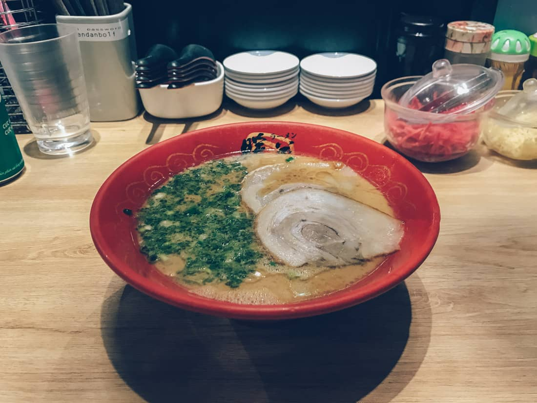 Danbo Ramen, Little Japan, HCMC, Vietnam