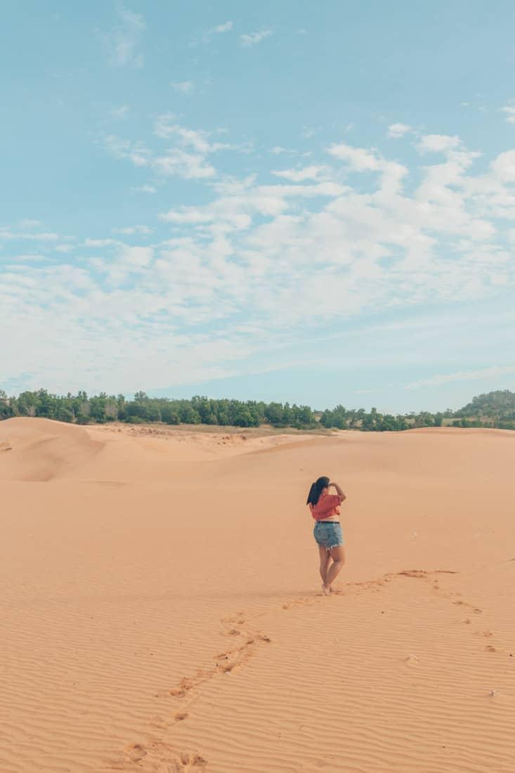 Red San Dunes, Mui Ne, Vietnam