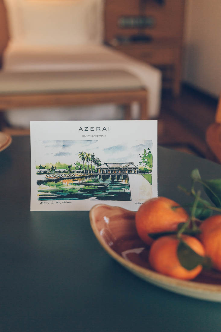 Garden bungalow at Azerai Can Tho