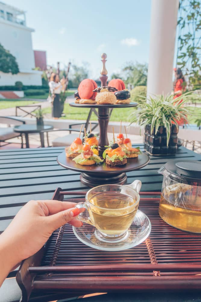 Afternoon Tea at Azerai La Residence Hue, Vietnam