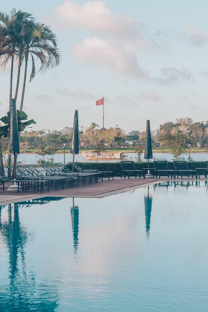 Pool at Azerai La Residence Hue, Vietnam