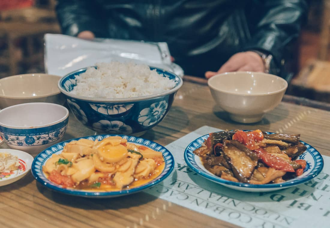 Vegetarian food in Hue, Vietnam