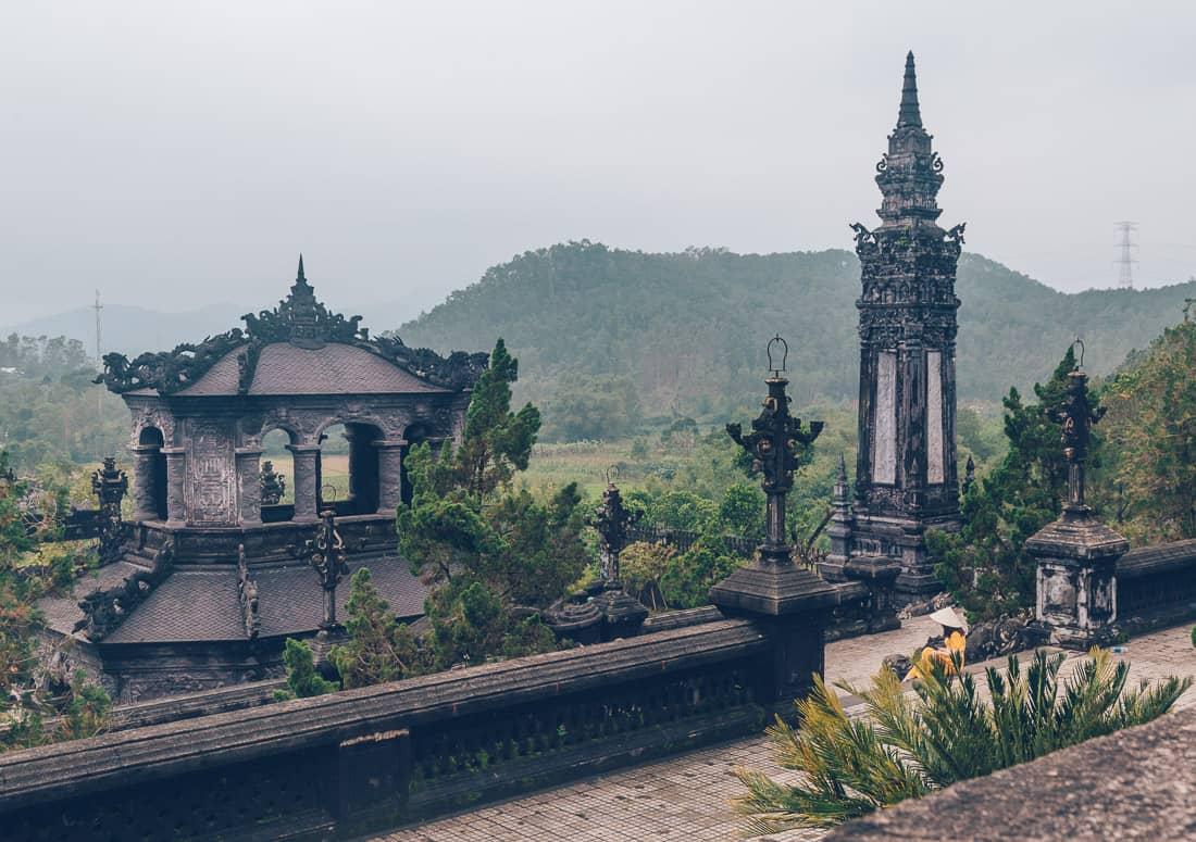 Royal Tomb of Khai Dinh, Hue, Vietnam