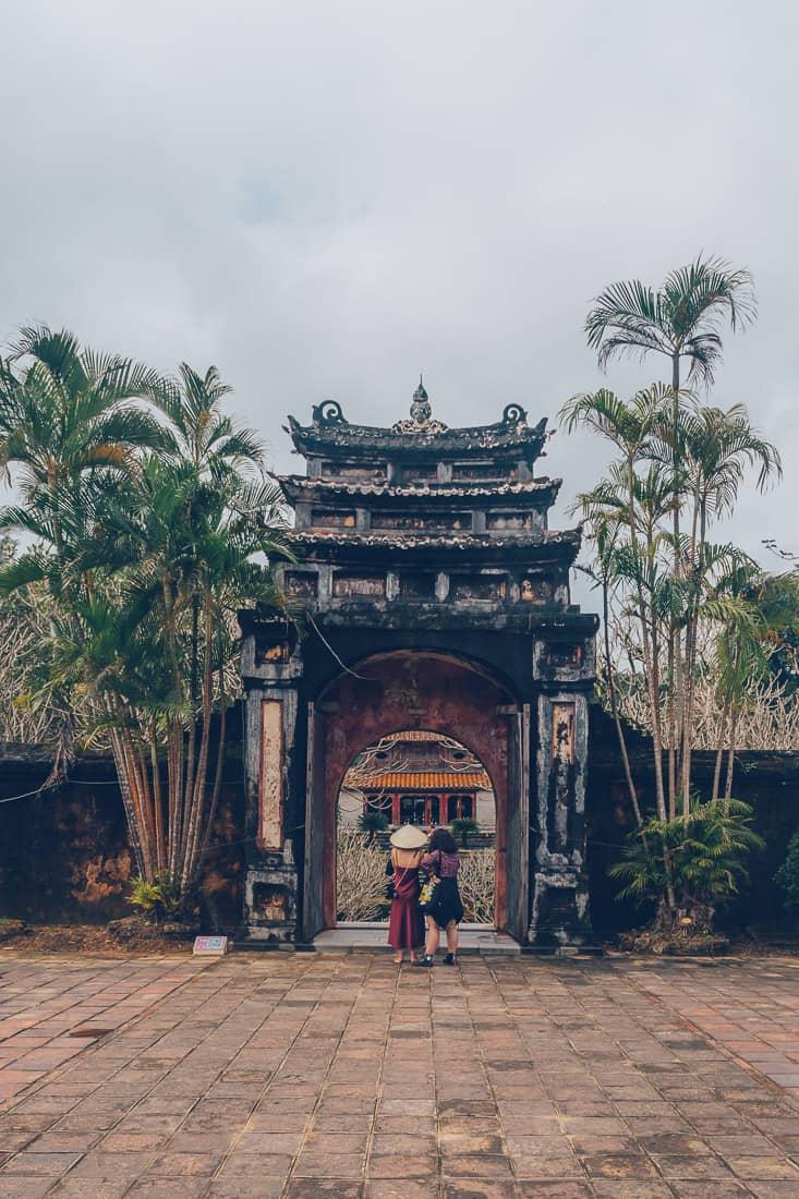 Royal Tomb of Minh Mang, Hue, Vietnam