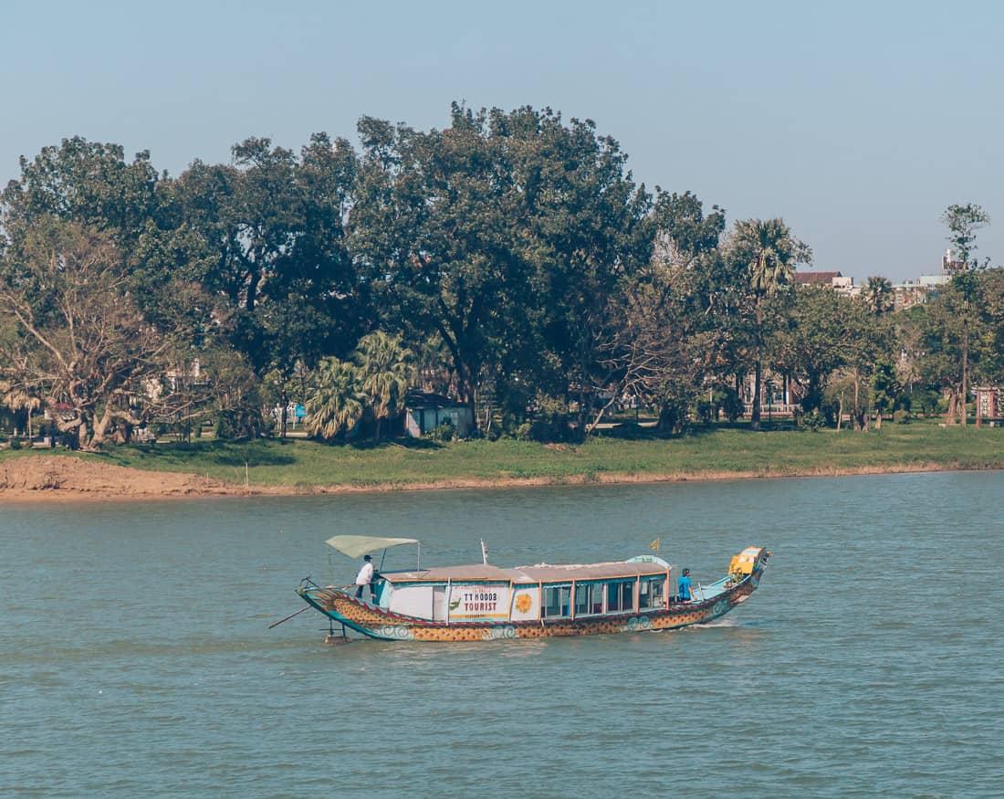 Cruise along Perfume River, Hue, Vietnam