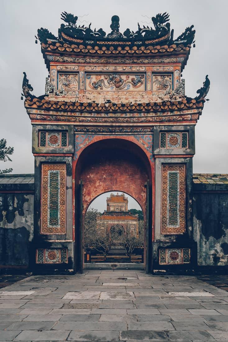 Royal Tomb of Tu Duc, Hue, Vietnam