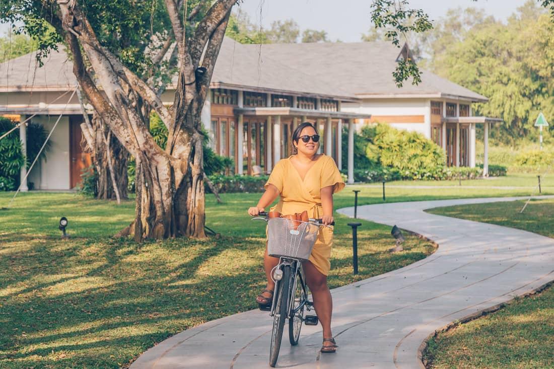 Azerai Can Tho biking