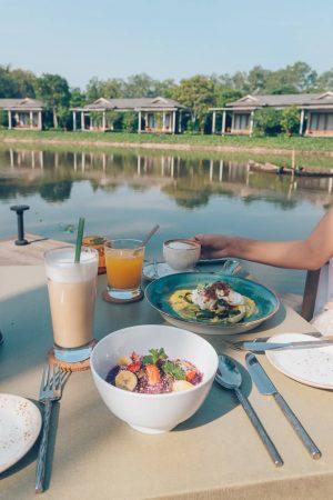 Azerai Can Tho breakfast