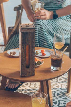 Pollen Messenger honey wine at Azerai Can Tho