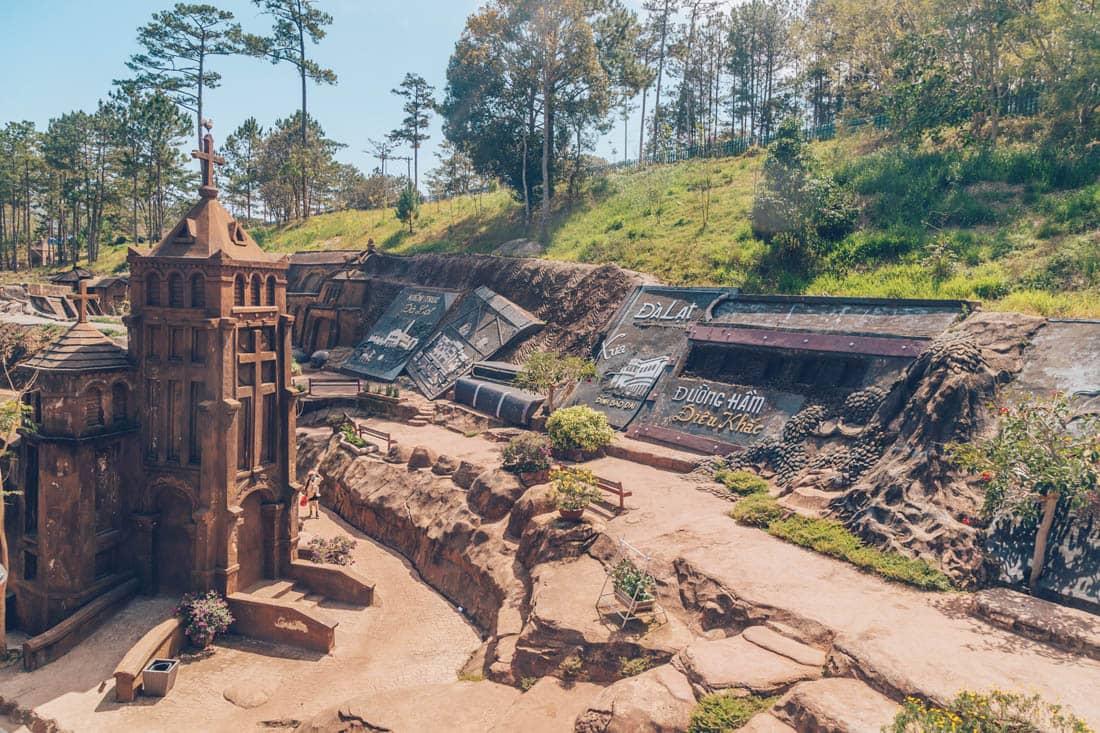 Clay Tunnel, Dalat, Vietnam