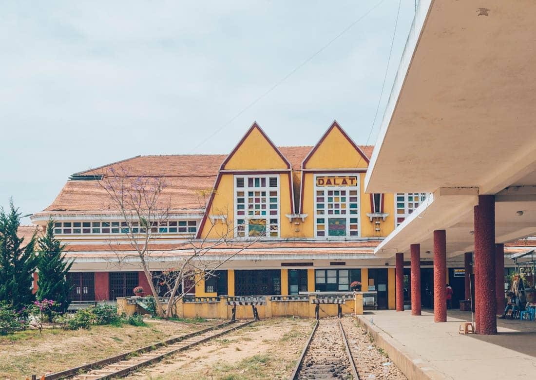 Dalat Railway Station, Vietnam