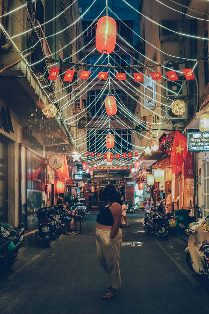 Little Japan at Night, HCMC, Vietnam