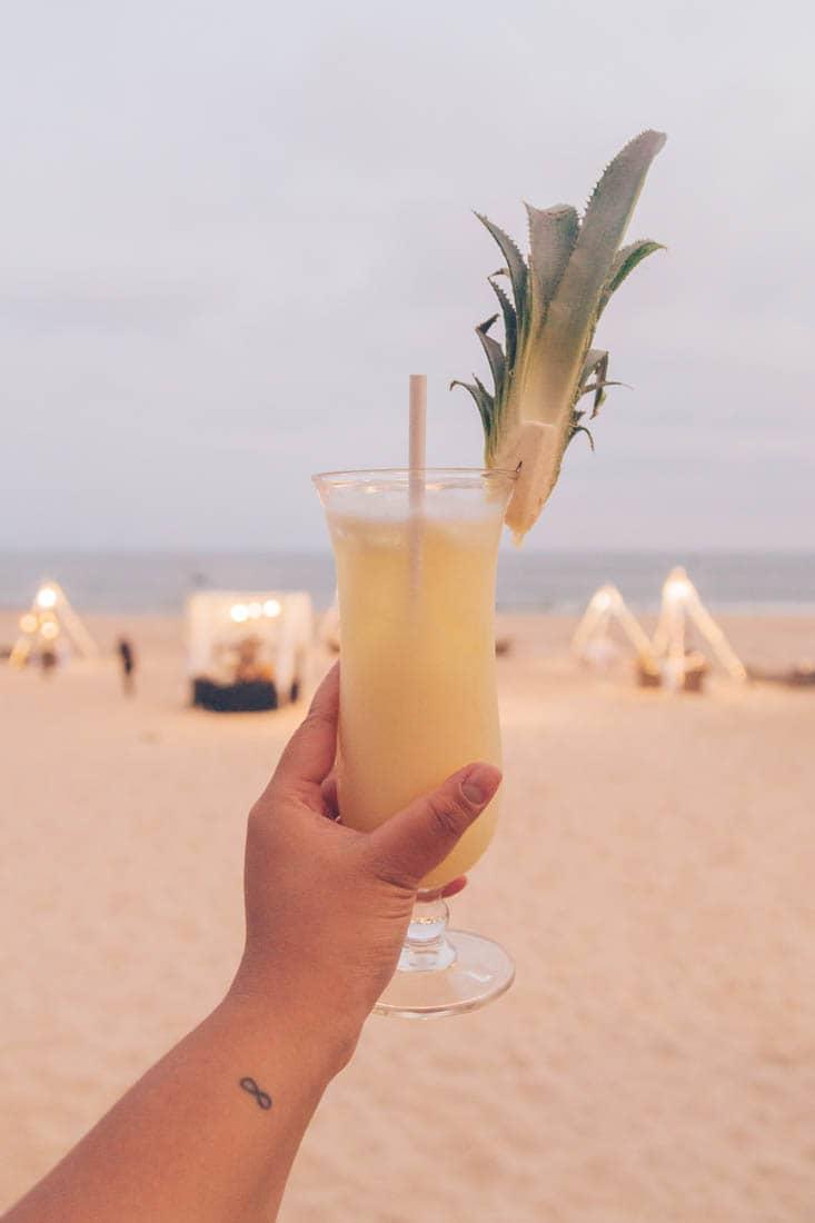 Sunset drinks, Anantara Mui Ne