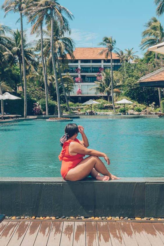 Infinity Pool at Anantara Mui Ne