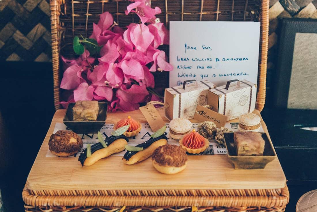 Welcome dessert to Anantara Mui Ne
