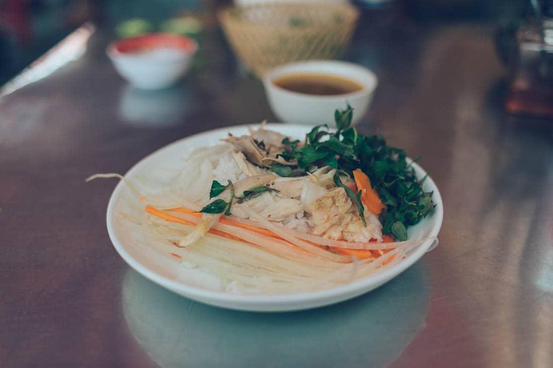Chicken Rice, Hoi An, Vietnam