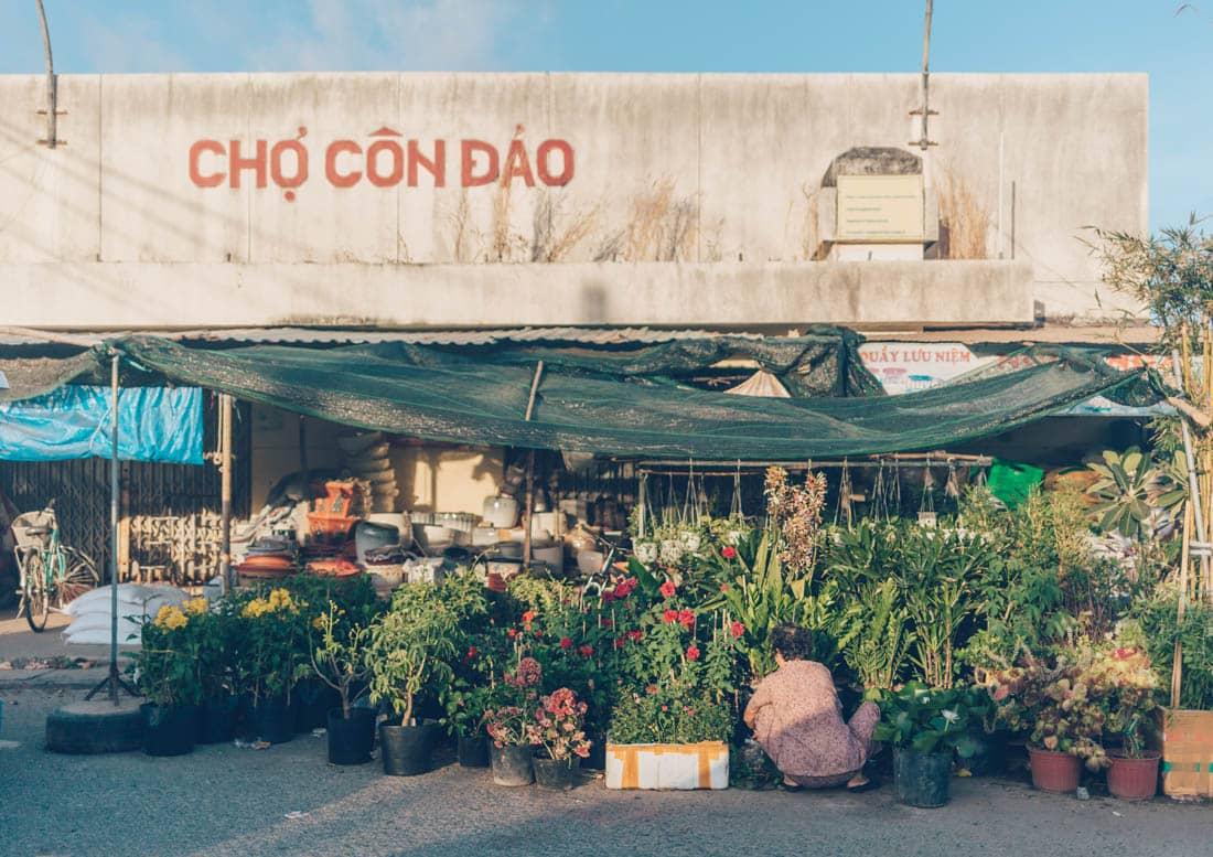 Con Dao Market, Vietnam