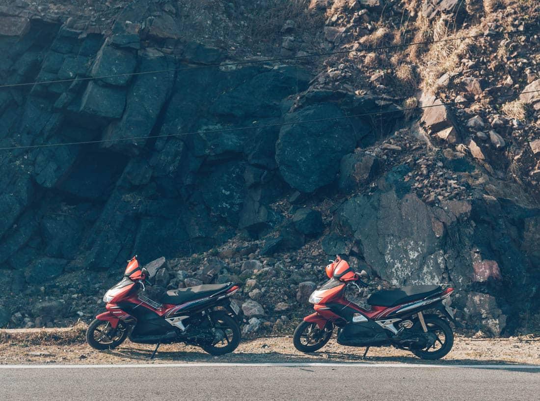 Motorbiking in Con Dao, Vietnam