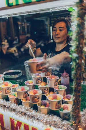 Smoke Ice Cream, Hoi An, Vietnam