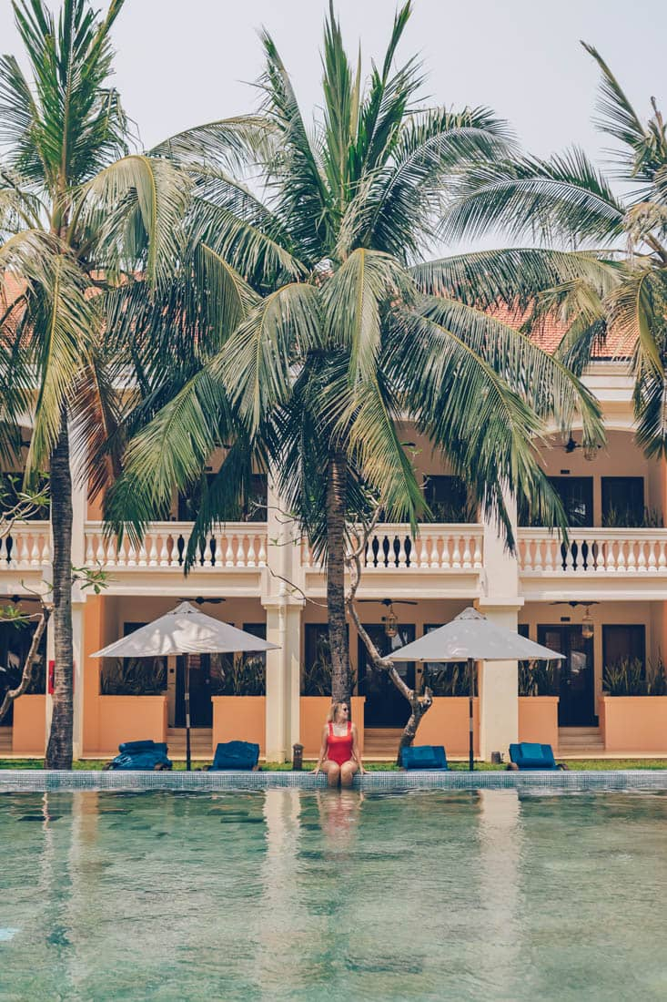 Pool at Anantara Hoi An, Vietnam
