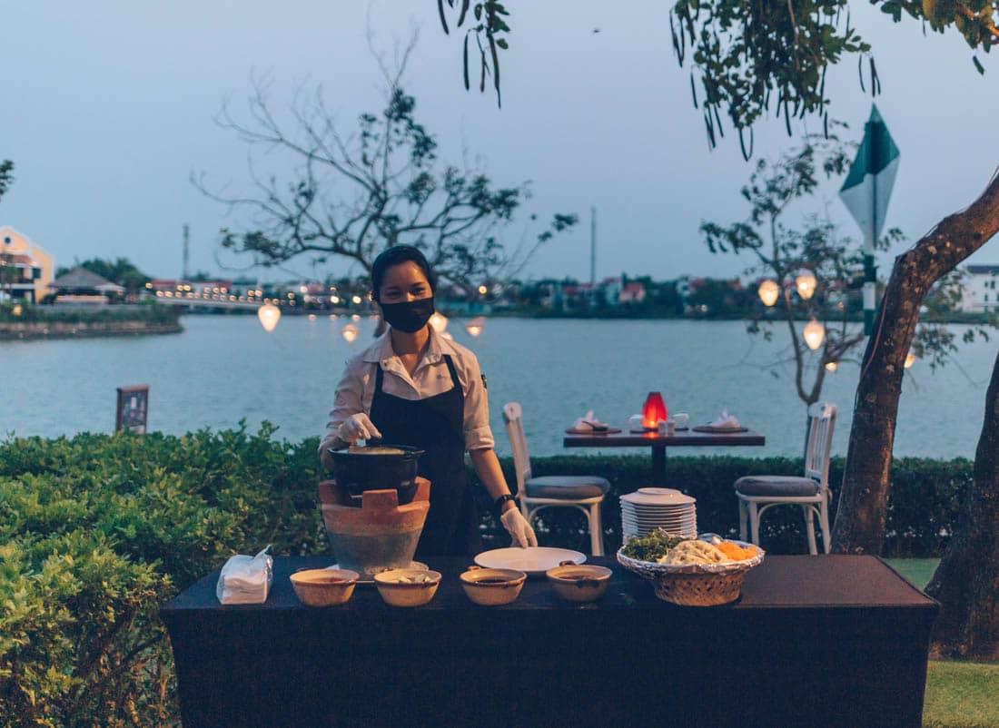 Full Moon Seafood BBQ at Anantara Hoi An, Vietnam