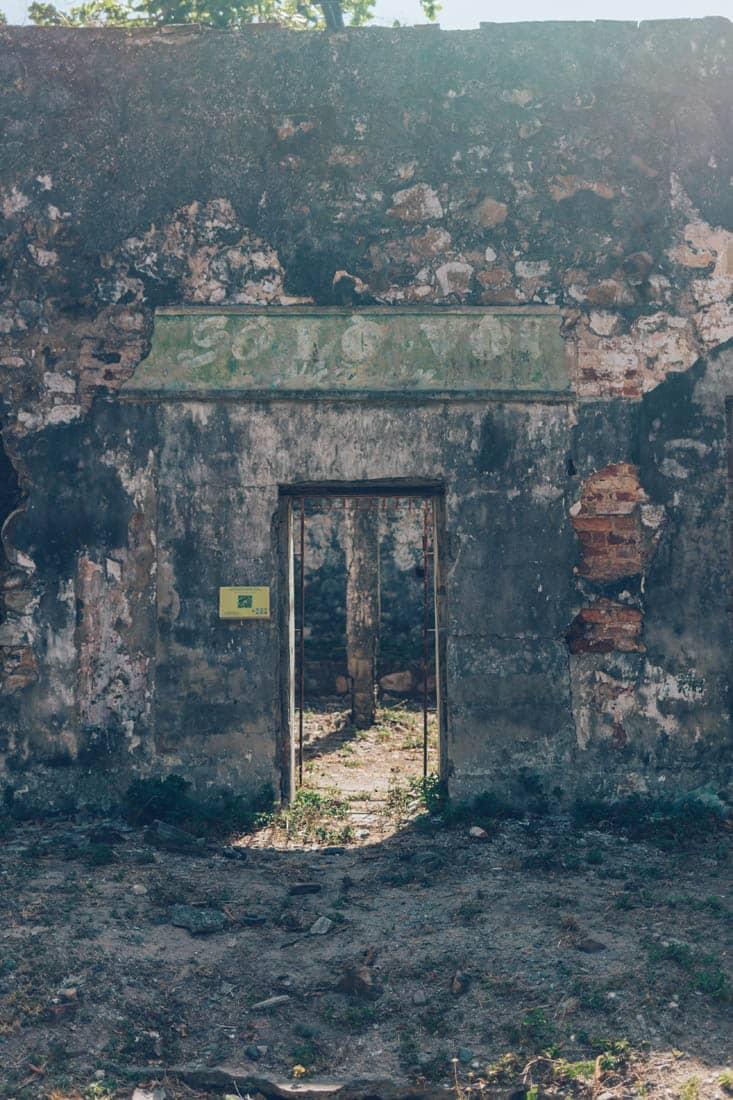 So Lo Voi Ruins, Con Dao, Vietnam