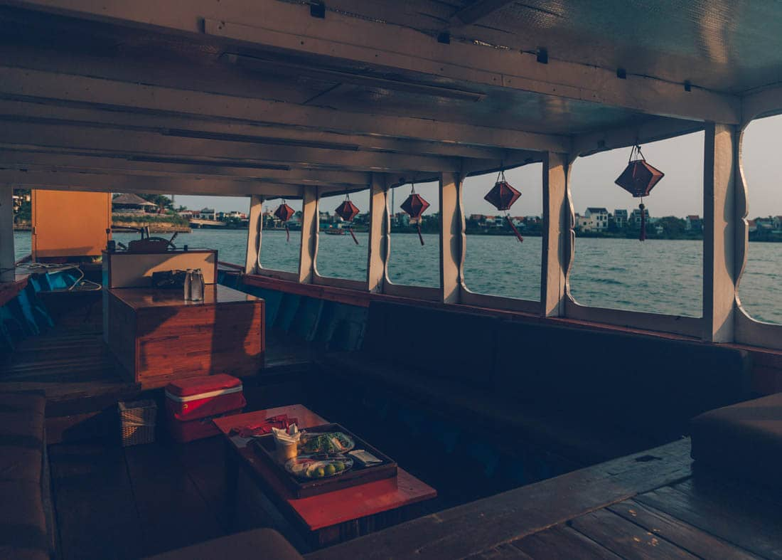 Sunset Cruise from Anantara Hoi An, Vietnam
