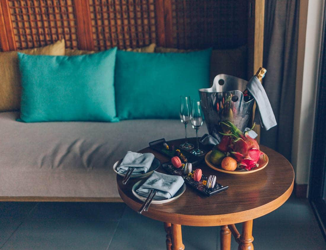 Welcome treat, Anantara Quy Nhon Villas, Vietnam