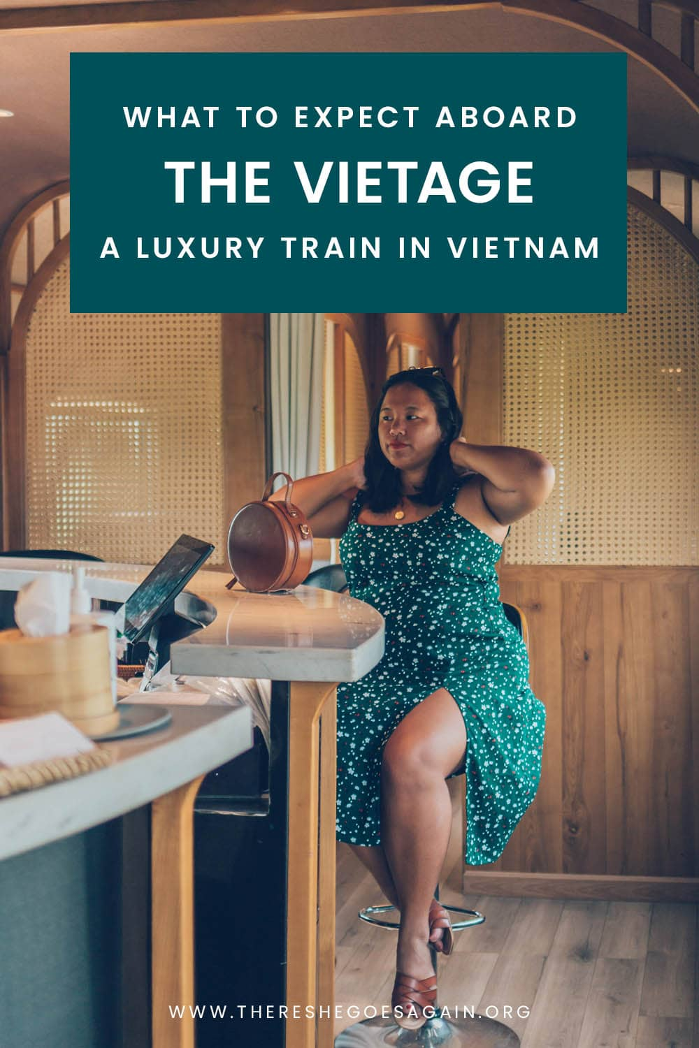 What it's like riding the Vietage, a luxury train ride in Vietnam