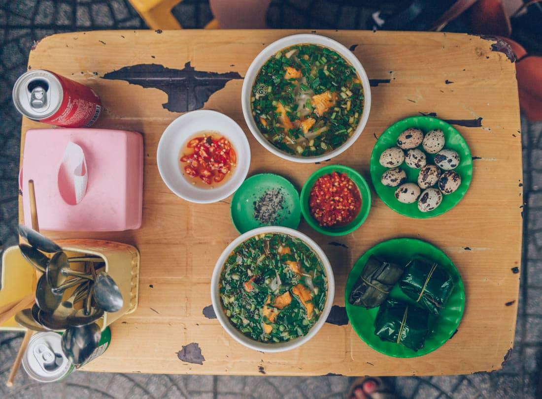 Banh Canh Ca Loc, Hue, Vietnam