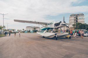 Seaplane, Halong City, Vietnam