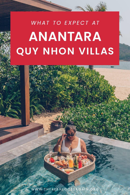 A review of Anantara Quy Nhon Villas in Vietnam!