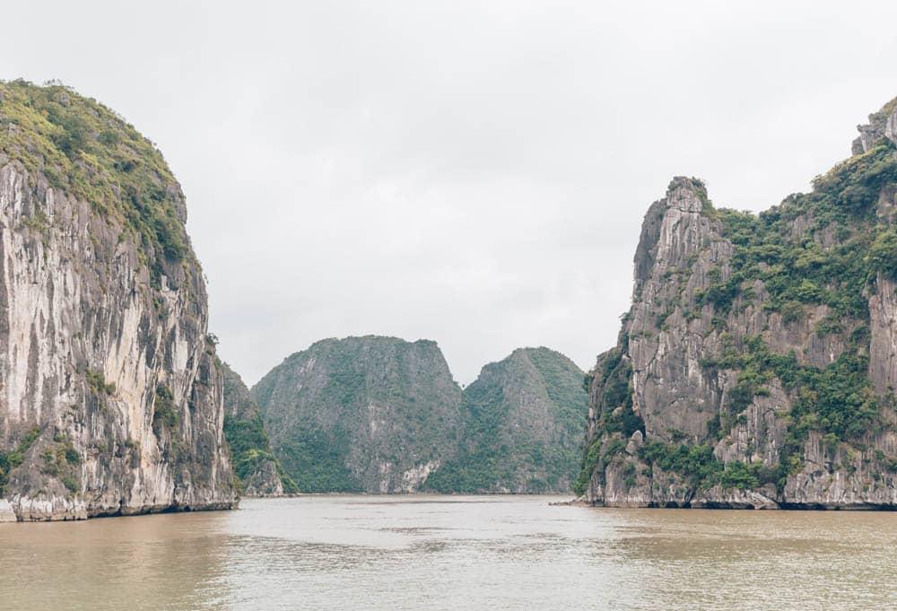 Halong City to Cat Ba Ferry, Halong Bay, Vietnam