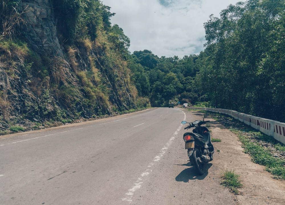 Motorbike, Catba Island, Vietnam