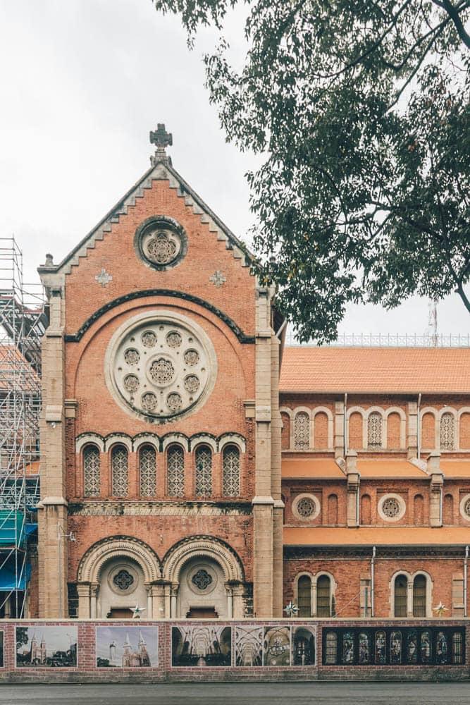 Saigon Cathedral, HCMC, Vietnam